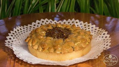 Kuchen Horneado Familiar Manzana Nuez Canela