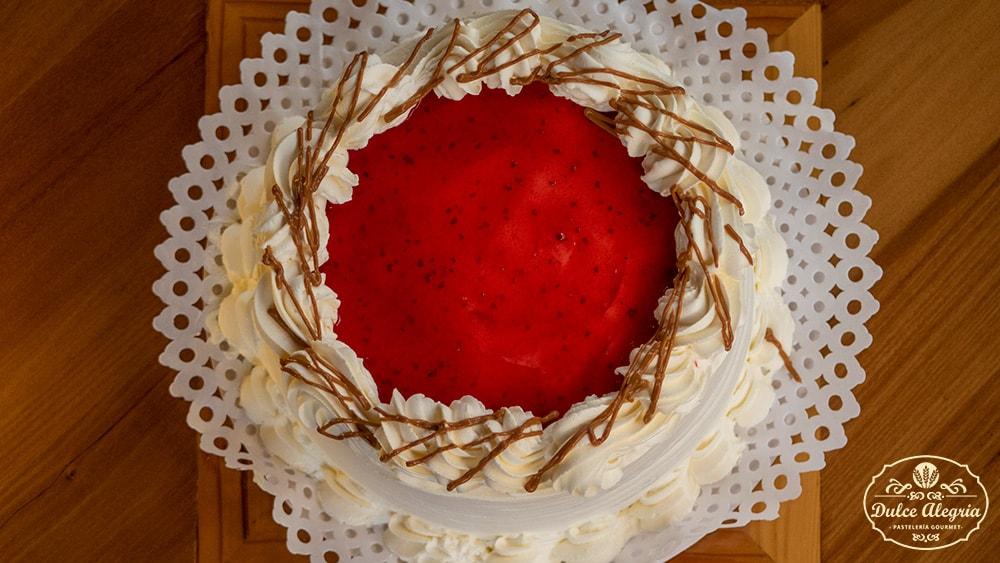 Torta Bizcocho Frambuesa
