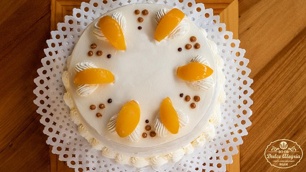 Torta Bizcocho Durazno