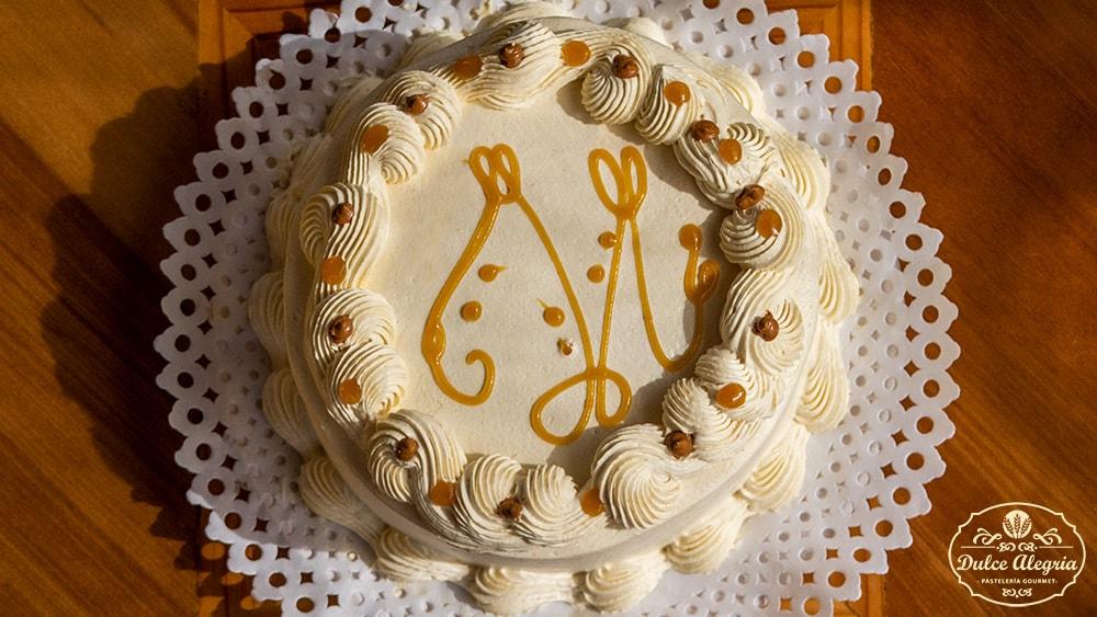Torta Bizcocho Lúcuma Manjar Nuez