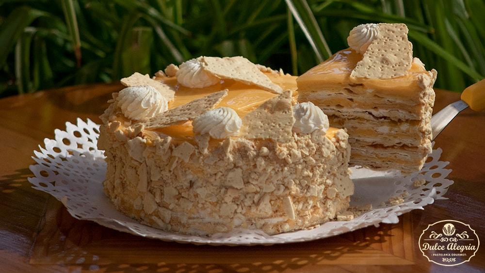 Torta Hojarasca Naranja