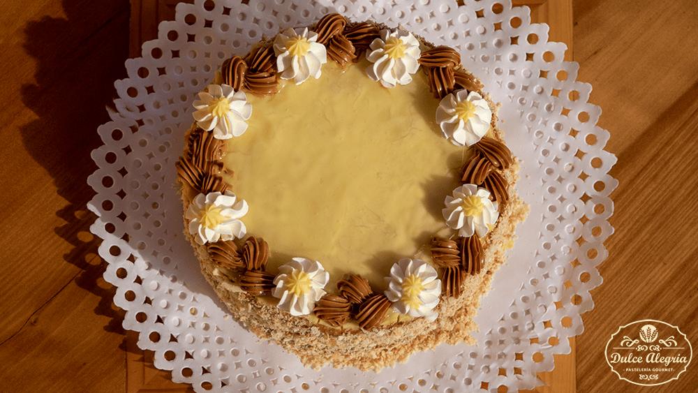 Torta Mil Hojas Manjar Crema Pastelera