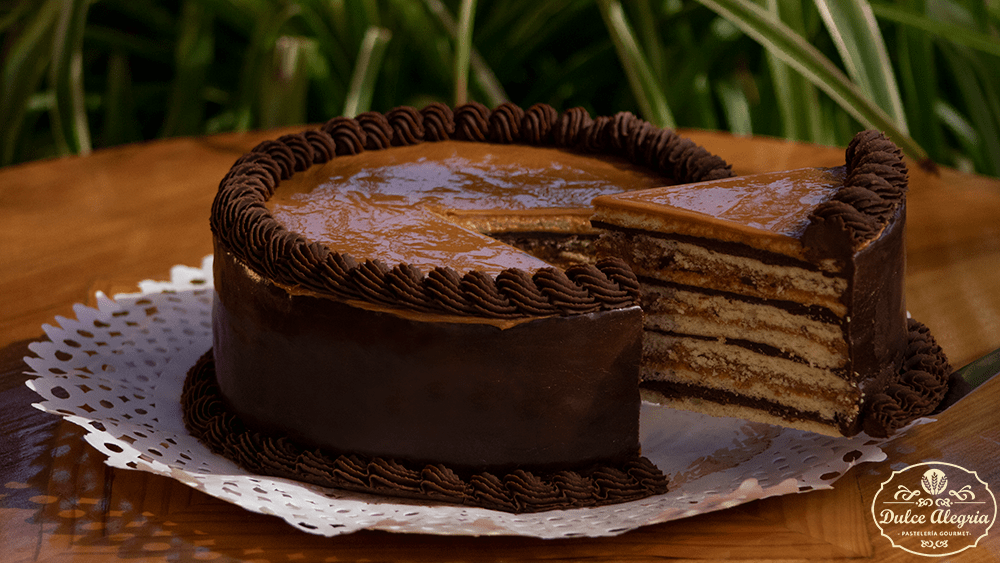 Torta Panqueque Manjar Chocolate