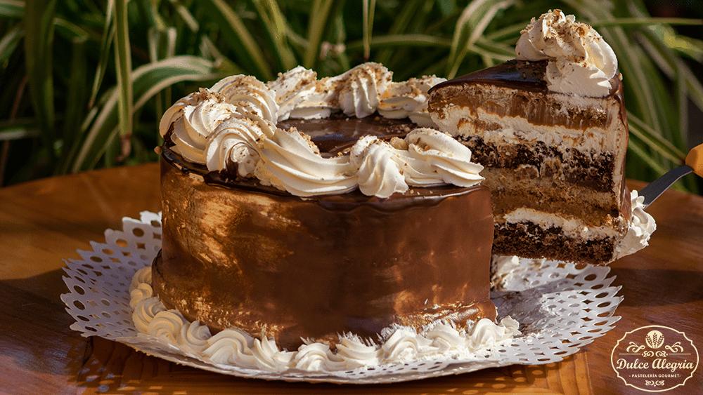 Torta Gourmet Almendra Chocolate