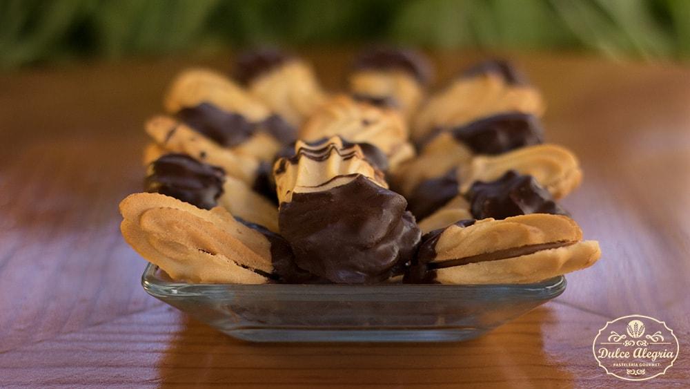 Galleta Artesanal Vainilla Manjar Chocolate