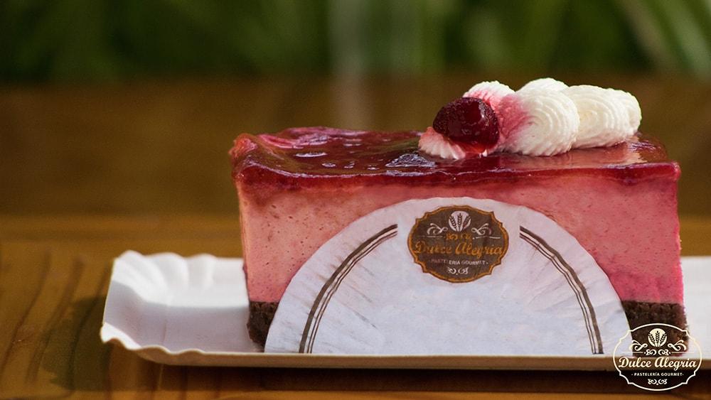 Pastel Cheesecake Frambuesa