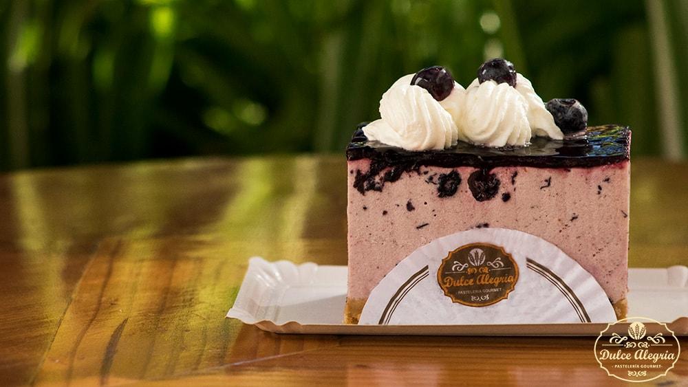 Pastel Cheesecake Arándano