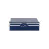 Caja color azul