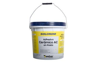Adhesivo AC para cerámica en pasta Solcrom 25 kg