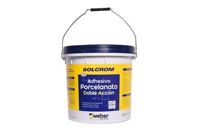 Adhesivo DA para porcelanato en pasta Solcrom