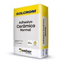 Adhesivo cerámico en polvo Solcrom 25 kg