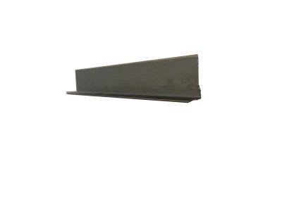 Ángulo de aluminio Titanio 3 mts