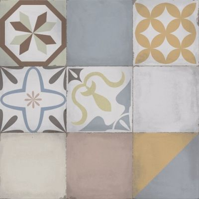 $ 3.990 m² c/Iva Cerámica Mosaico Vecchio 51x51 Alberdi