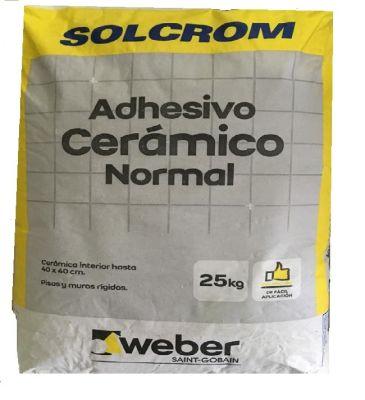 Adhesivo cerámico en polvo Solcrom