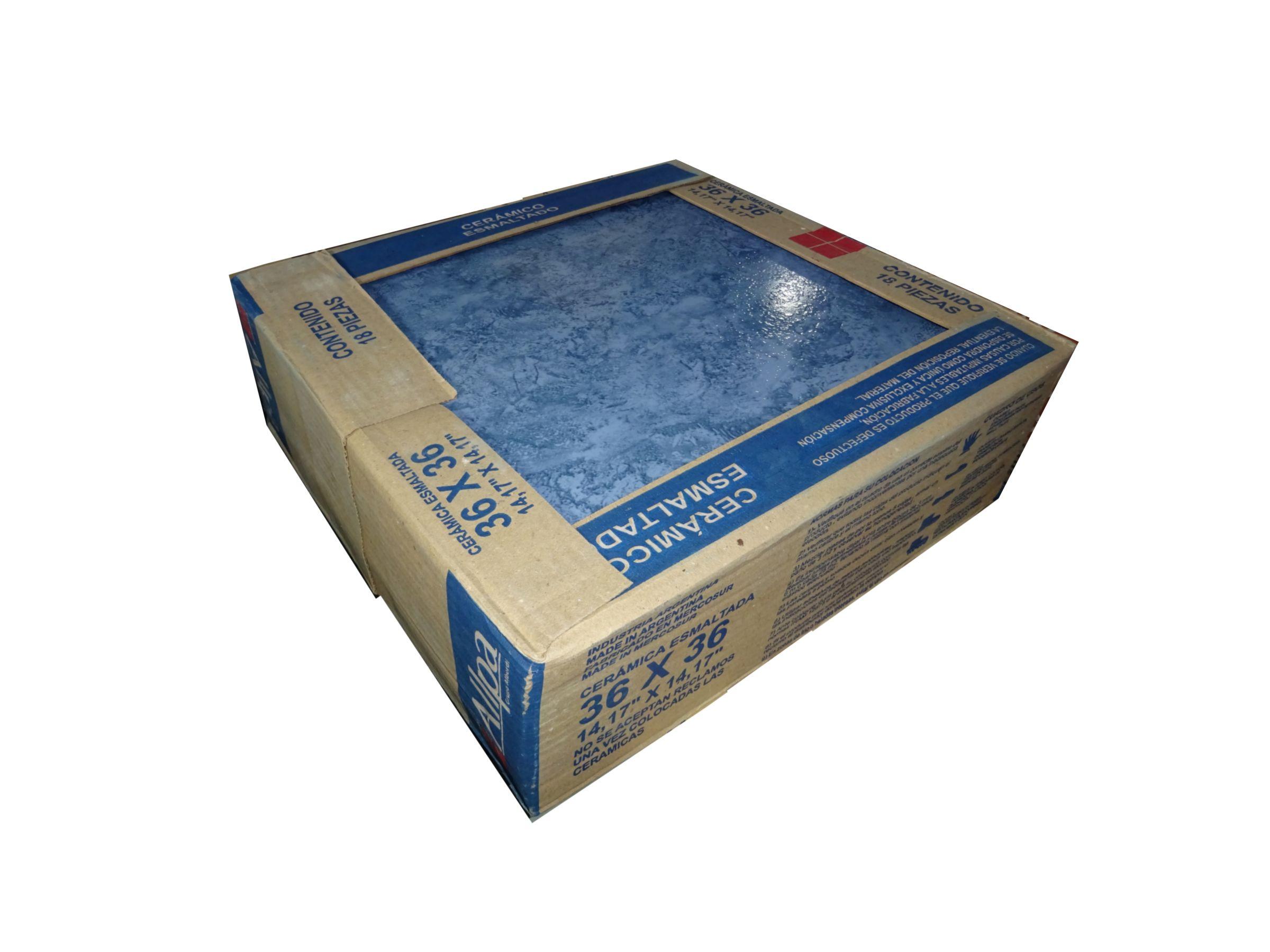 $ 3.590 c/Iva Cerámica Gema Zafiro 36x36 Alberdi