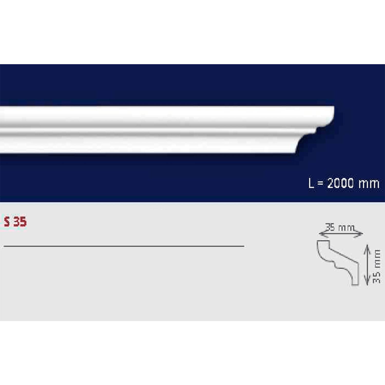 Cornisa EPS extruído S35