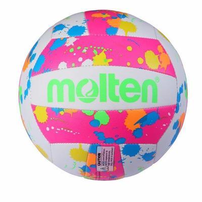 BALON VOLEYBALL PLAYA MS 500 NEON N°5