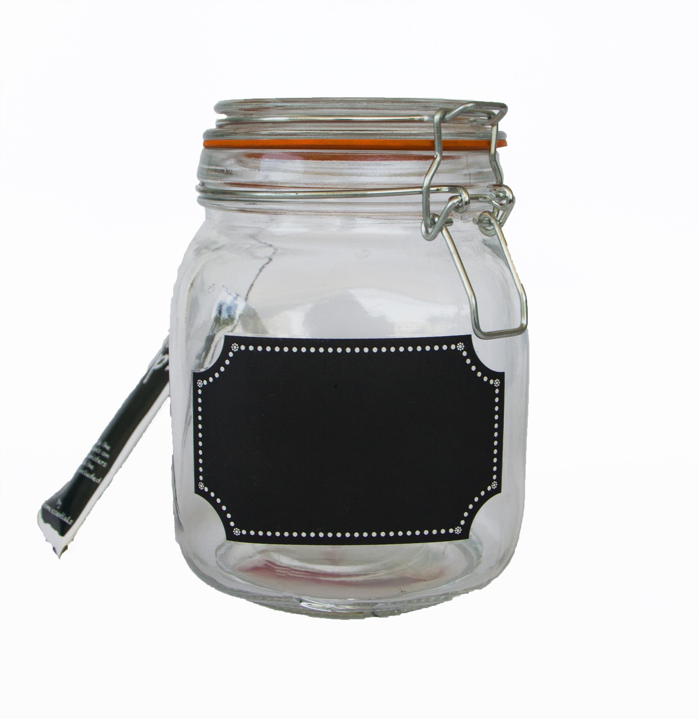 Porta utensilios vintage Mason Jar M/&W Soporte de cer/ámica blanca resistente a las virutas batidores y cucharas de almacenamiento Esp/átulas
