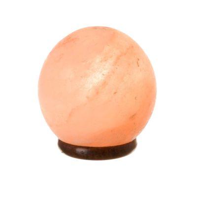 Lampara Esfera De Sal Rosa Del Himalaya - Diseño Eclipse R18TJ1012-14