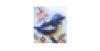 Afiche Pixel Patchwork Bird2