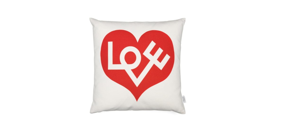 Cojín Love Heart Red