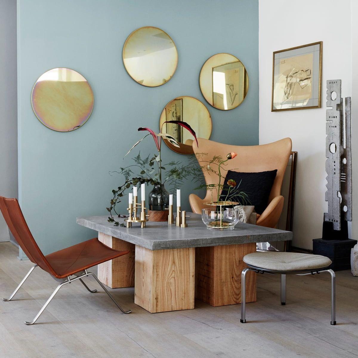 Mirror Circular Studio Roso