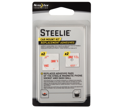 Steelie Car Mount Kit Replacement Adhes