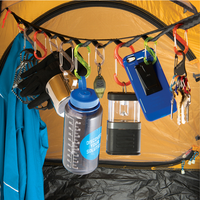 Cuerda Sistema Organizador Carpa Camping Gear Line 4