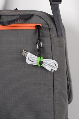 Amarras Cables Lazos Twisty con Mosquetón Gear Tie Clippable