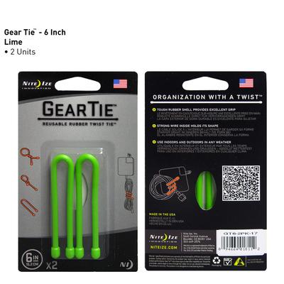 Amarras Cables Lazos Twisty Organizadoras Gear Tie 6