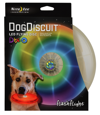 Disco / Frisbee LED Juguete para Perro Mascota Flashflight