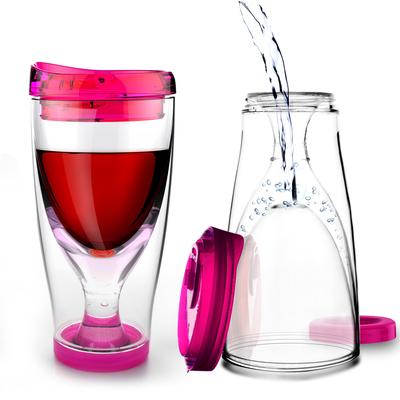 Vaso Plástico de Camping para Vino y Cerveza - Ice Vino 2 Go