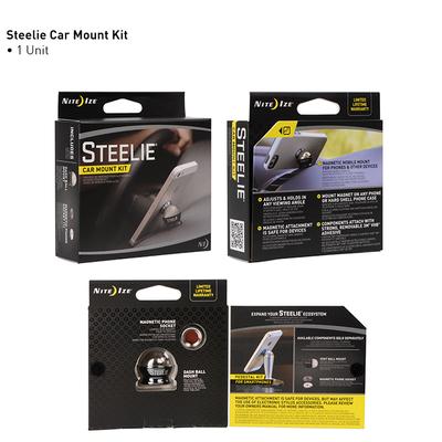 Soporte celular auto Steelie Original - iman + bolita para auto