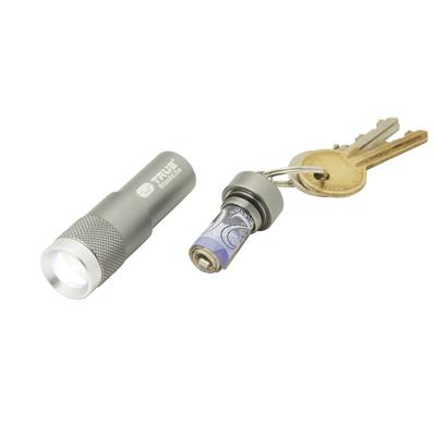 Linterna LED Llavero con Espacio para Billetes True Utility