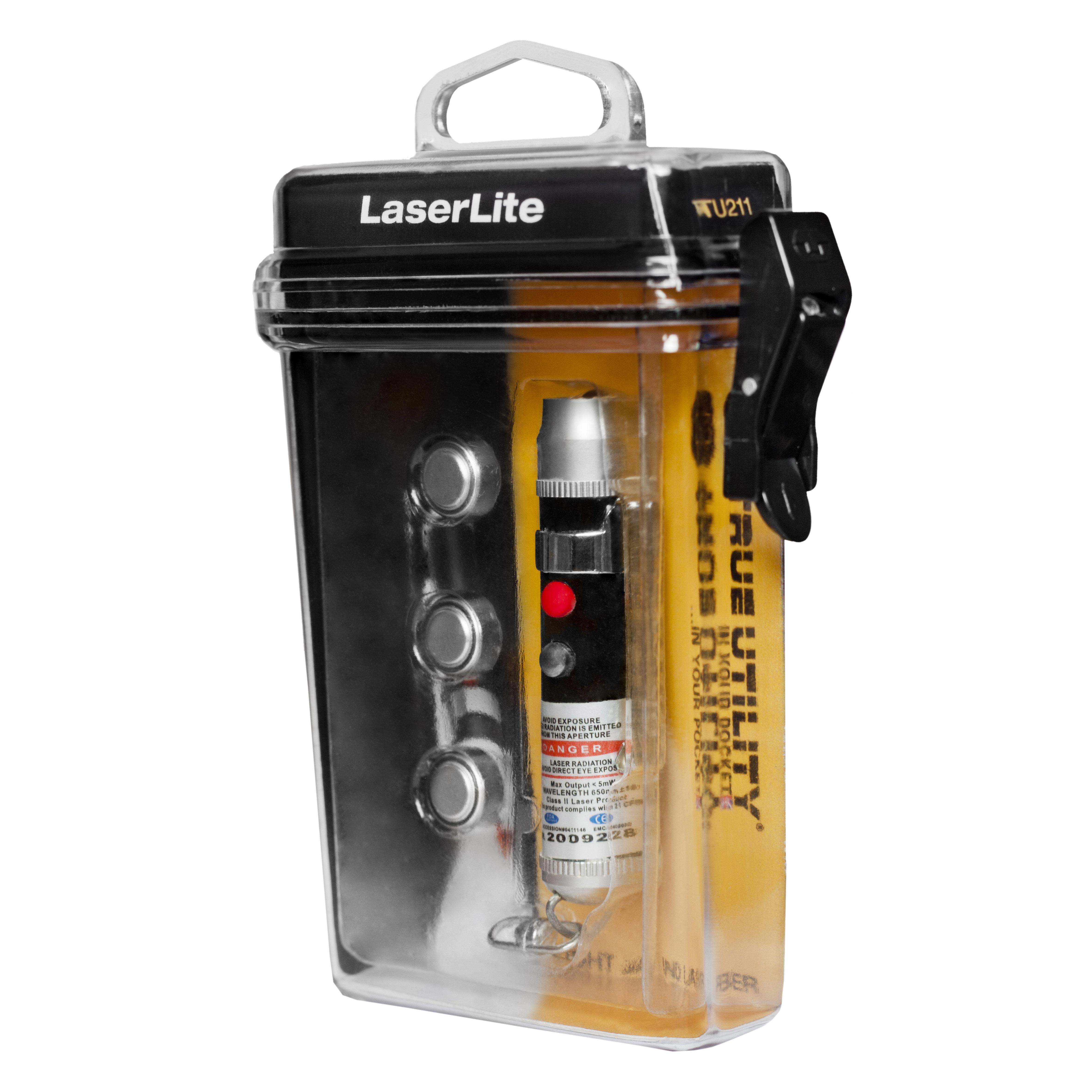 Llavero con Puntero Laser Rojo LaserLite True Utility