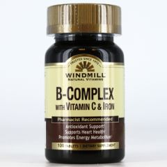 B COMPLEX (FORTIFIED FORMULA) 100 TABS