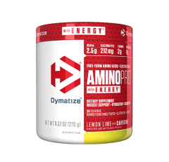 AMINO PRO ENERGY DYMATIZE LEMON LIME