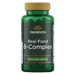 ULT REAL FOOD B-COMPLEX 60 VEG CAPS