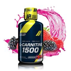 CARNITINA LIQUIDA API 1500 MG BERRY