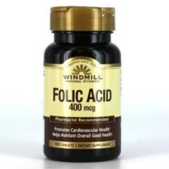 FOLIC ACID 400 MG 180 TABS