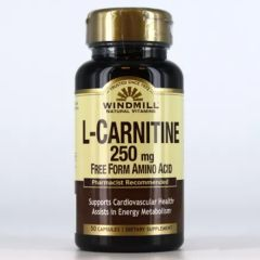 L-CARNITINE 250 MG 50 CAPS