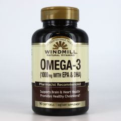 OMEGA 3 1000 MG 90 SOFTGEL