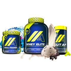 PACK API WHEY + CUT AF API + BCAA TRAINER BLUERAZZ
