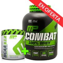 PACK COMBAT WHEY 5 LBS + BCAA CORE