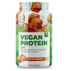 VEGAN PROTEIN ABOUTTIME 2 LBS Salted Caramel