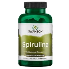GREENS SPIRULINA 500 MG 180 TABS