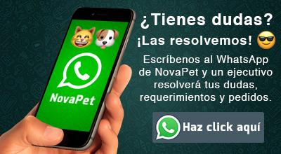 whatsapp con novapet