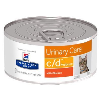 Hills Prescription Diet Latas Feline c/d Urinary Pack 24 Unidades (BANDEJA)
