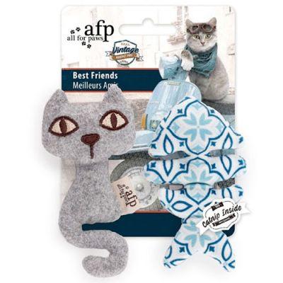 AFP Vintage Gato y Pescado