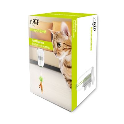 AFP Interactive Dispansador de Golosinas para Gatos